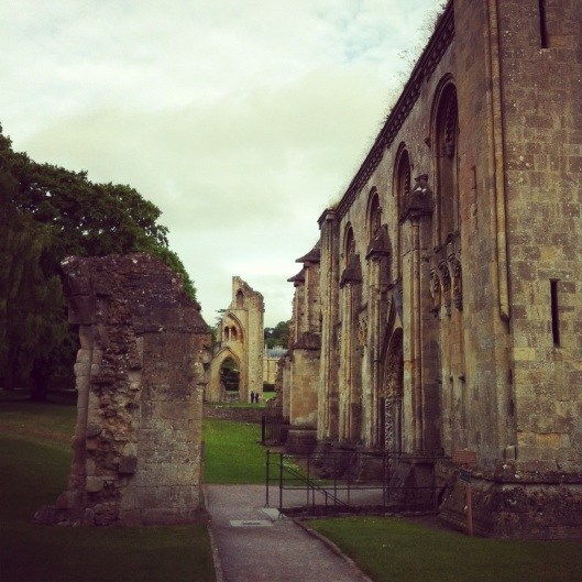 Glastonbury-abbey-ruins